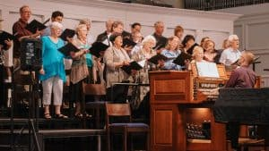 Choir at First Church, Sarasota, FL