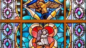 Stained Glass Windows in the Chapel at First Church, Sarasota, FL