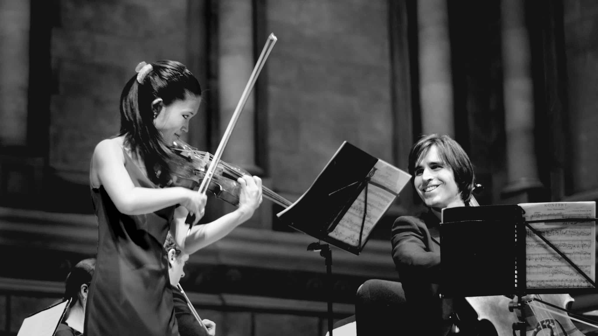 Duo - B performance at First Church